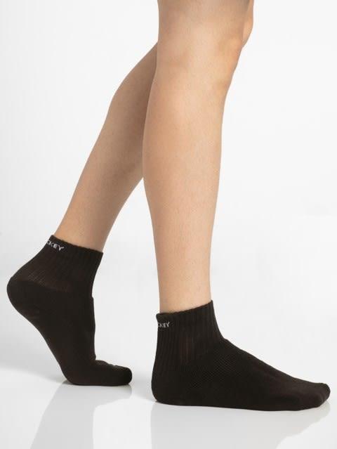 Brown Men Ankle Socks