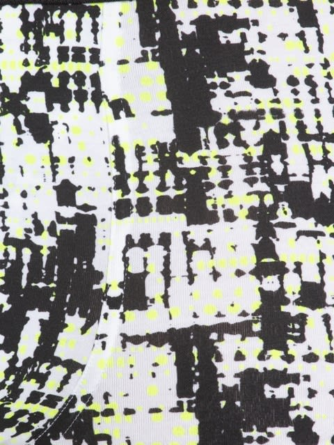 White & Black Print6 Boxer Brief