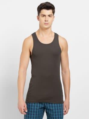 Deep Olive Racer Back Shirt