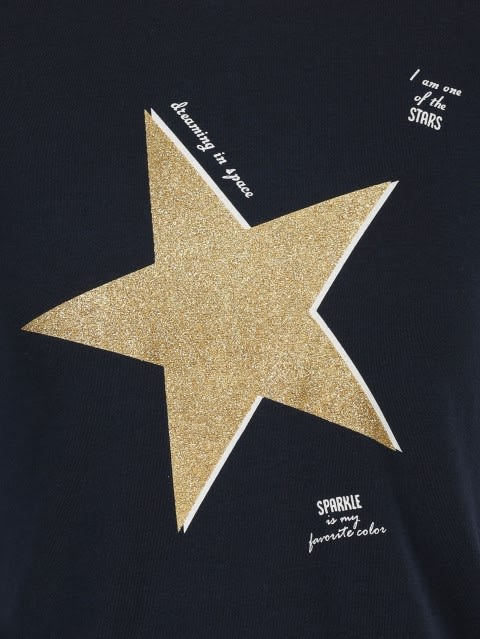 Navy Girls T-Shirt