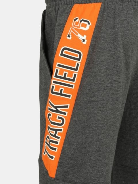 Charcoal Melange Boys Shorts