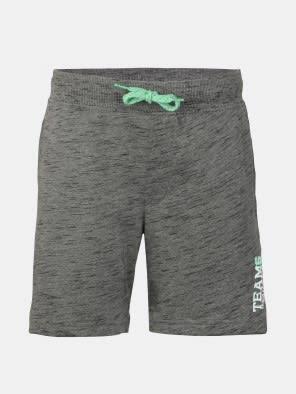 Deep Grey Slub Boys Shorts
