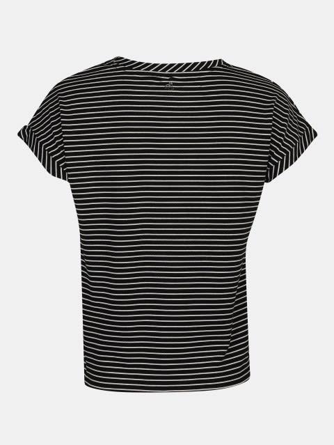 Black Printed Girls T-Shirt