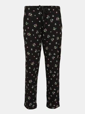 Black Printed Pyjama