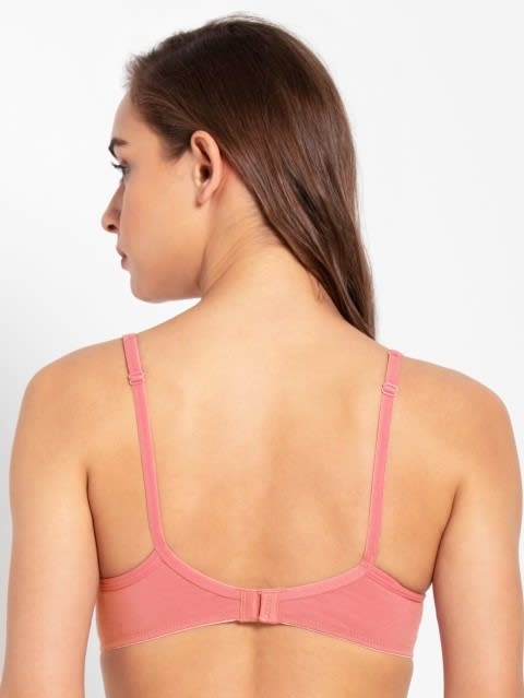 Candlelight Peach Non-wired Padded Bra