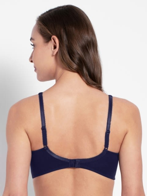 Classic Navy Moulded Cup Firm support Bra