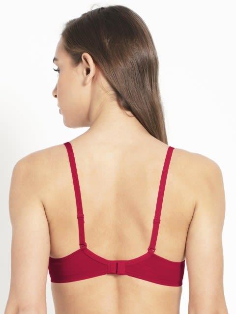 Sangria Red T-Shirt Bra