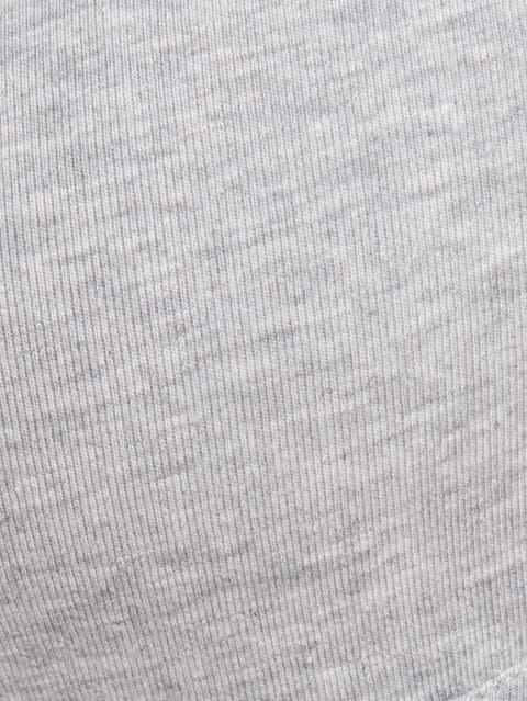 Steel Grey Melange Non-wired Padded Bra