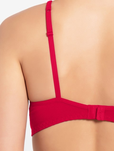 Sangria Red Soft Cup Bra