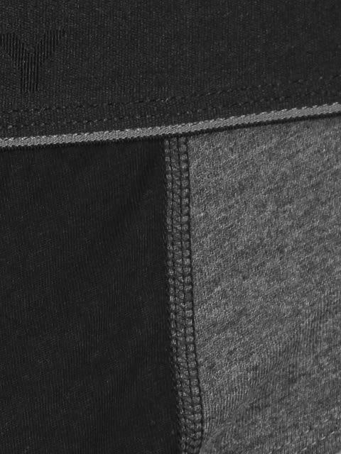 Charcoal Melange & Black Fusion Brief