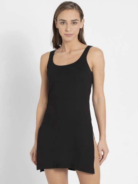 Black Long Camisole