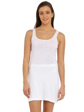 White Long Camisole