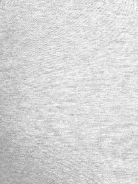 Light Grey Melange Crop Top