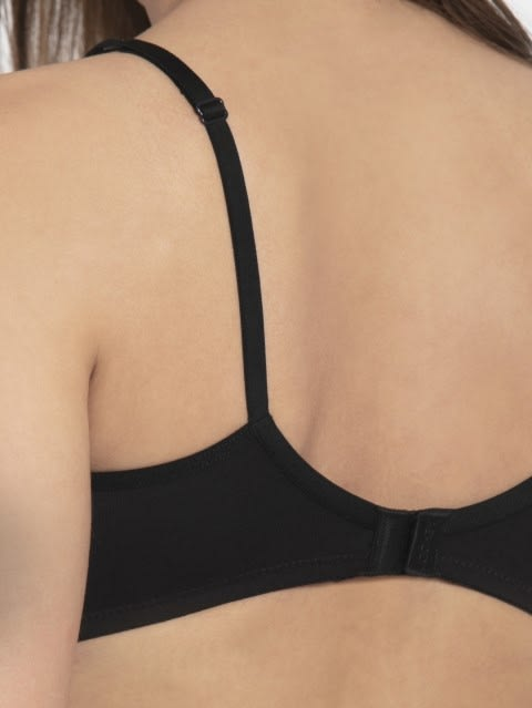 Black Seamless Shaper Bra