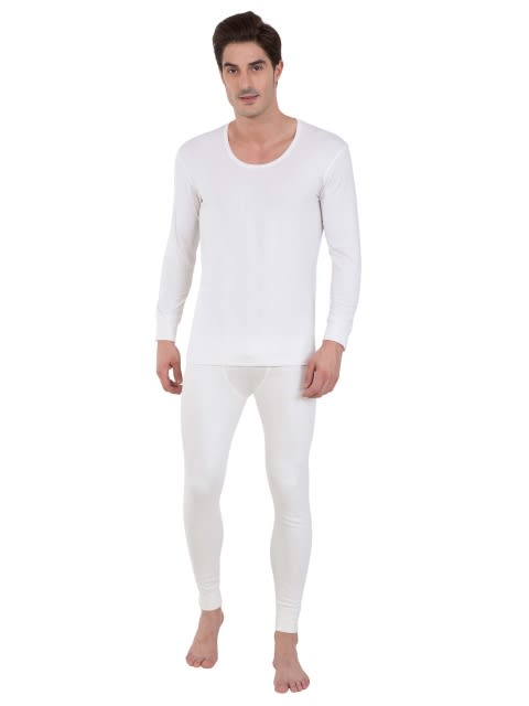 Off White Thermal Long John
