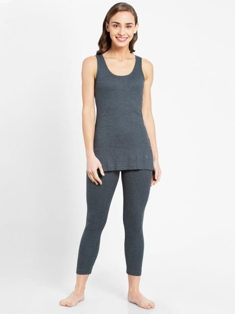 Charcoal Melange Thermal Camisole