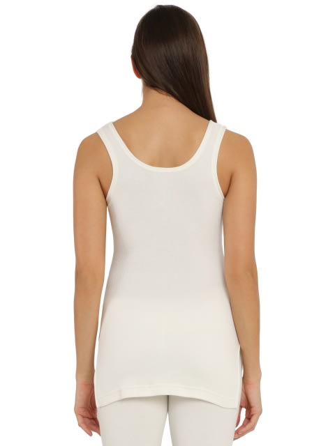 Off White Thermal Camisole