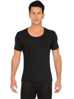 Black Thermal T-Shirt