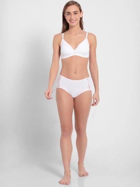 White Fashion Fit Bra