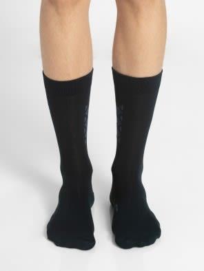 Navy Formal Socks