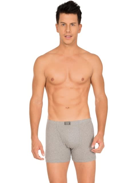 Grey Melange Boxer Brief