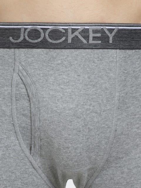 Grey Melange Boxer Brief