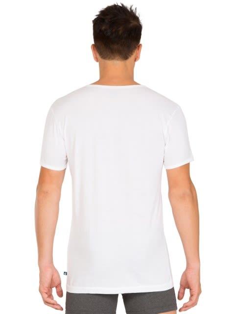 White Half Sleeve Vest Pack of 2