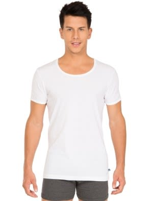 White Half Sleeve Vest Pack of 2