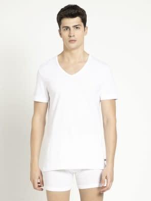 White V-Neck Under shirt