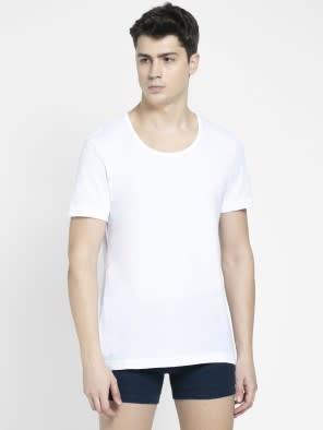 White Round Neck Under shirt