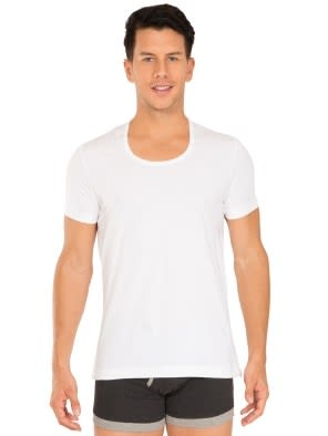 White Round Neck Under shirt
