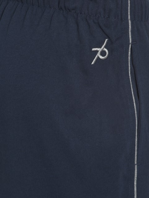 Navy & Grey Melange Track Pant