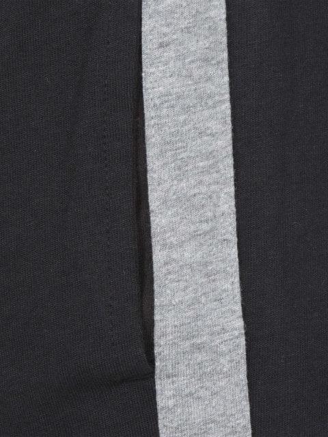 Black & Grey Melange Star Tracks
