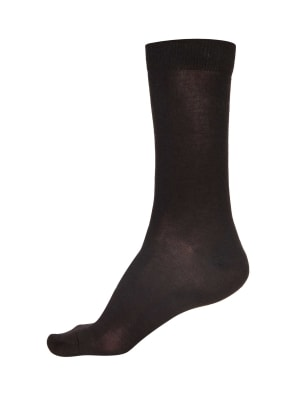 Black Men Formal Socks Pack of 3