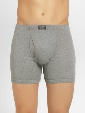 Grey Melange Boxer Brief Pack of 2