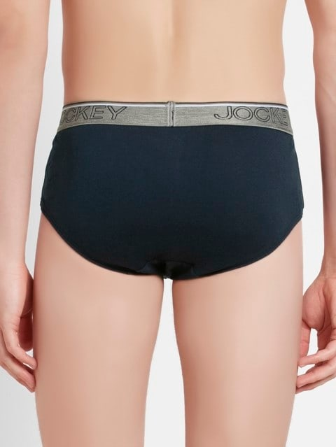 Navy Square Cut Brief Pack of 2