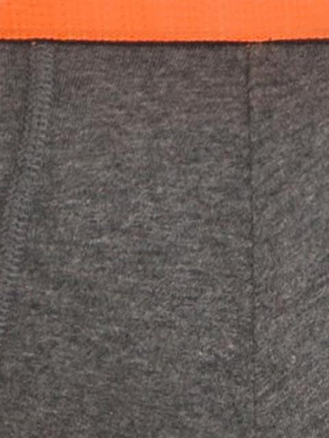 Charcoal Melange & Assorted Neon Color Garters Bold Brief