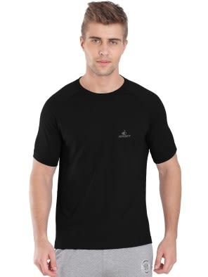 Black Performance Tee