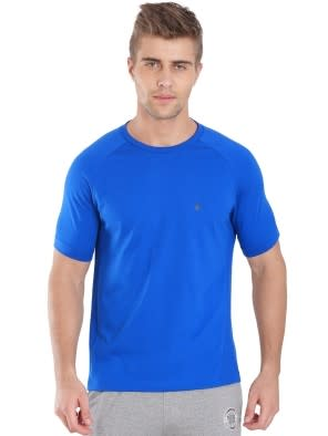 Neon Blue Performance Tee