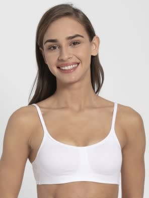 White Soft Cup Bra