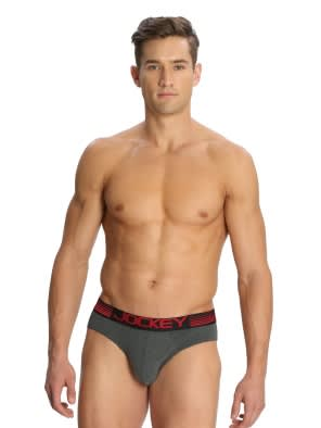 Charcoal Melange Bikini Brief