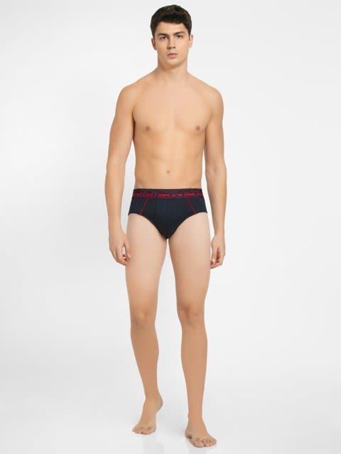 Navy Bold Brief Pack of 2