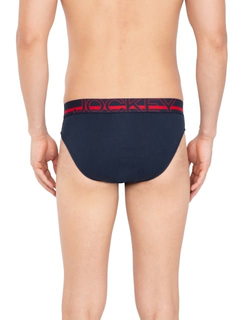 Navy Modern Brief Pack of 2