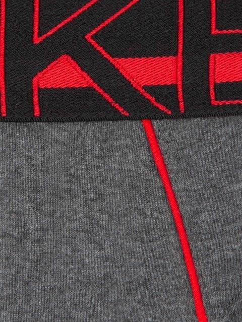Charcoal Melange Modern Brief Pack of 2