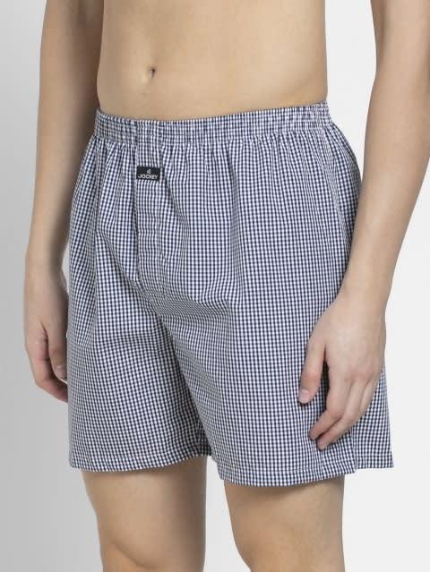 Light Assorted Checks Boxer Shorts