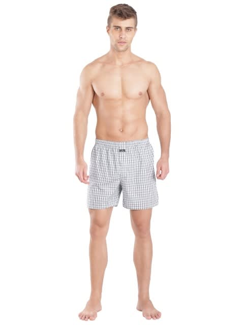 Light Assorted Checks Boxer Shorts