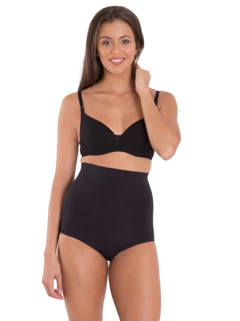 Black Seamless Shaping High Waist Bikini