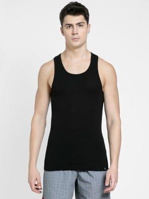 Black Racer Back Shirt