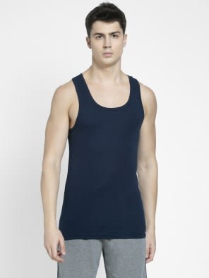 Navy Racer Back Shirt