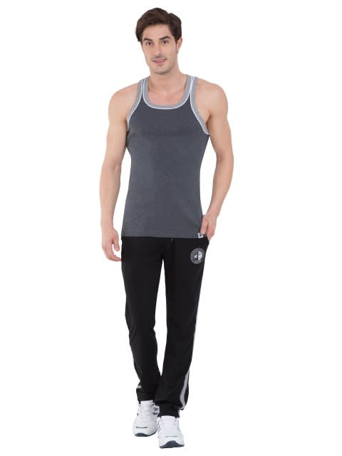 Charcoal Melange & Grey Melange Fashion Power Vest